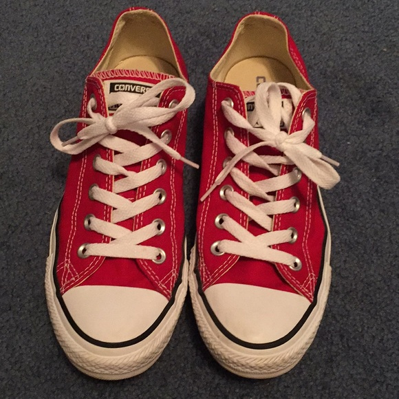 e5d4b4d5337b Converse Shoes - Red Converse All Star Short